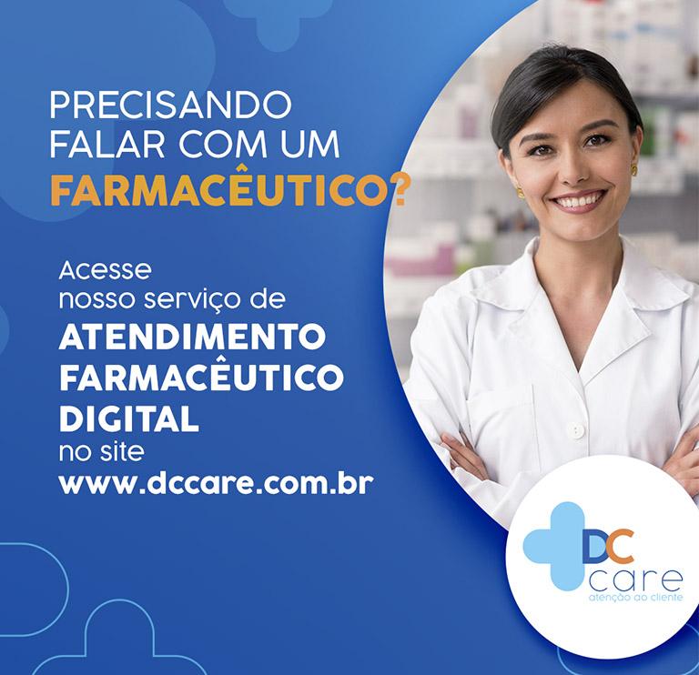 Banner Farmacêutio Online - Mobile