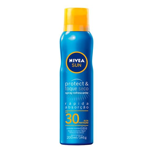 PROTETOR-SOLAR-NIVEA-SUN-PROTECT-E-TOQUE-SECO-FPS30-SPRAY-200ML