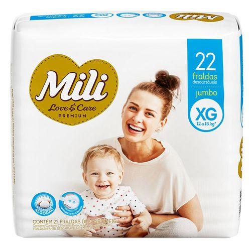 Fralda-Mili-Love-E-Care-Xg-Jumbo-Com-22-Unidades