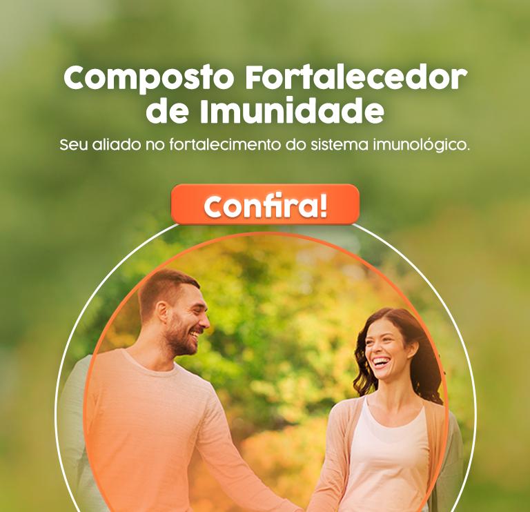 Banner Composto Fortalecedor de Imunidade - Mobile