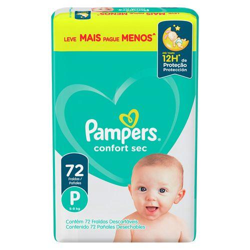 -Fralda-Pampers-Confort-Sec-Com-72-Tamanho-P-Especial